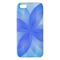 Abstract Lotus Flower 1 iPhone 5S Premium Hardshell Case