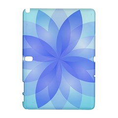 Abstract Lotus Flower 1 Samsung Galaxy Note 10 1 (p600) Hardshell Case