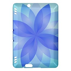 Abstract Lotus Flower 1 Kindle Fire Hdx Hardshell Case