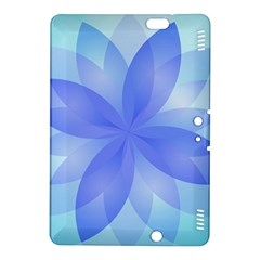 Abstract Lotus Flower 1 Kindle Fire Hdx 8 9  Hardshell Case