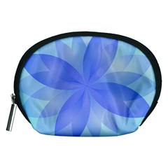 Abstract Lotus Flower 1 Accessory Pouches (Medium)