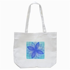 Abstract Lotus Flower 1 Tote Bag (white)