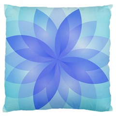Abstract Lotus Flower 1 Standard Flano Cushion Cases (One Side)