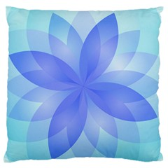 Abstract Lotus Flower 1 Standard Flano Cushion Cases (Two Sides)