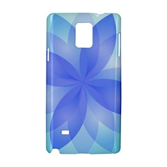 Abstract Lotus Flower 1 Samsung Galaxy Note 4 Hardshell Case