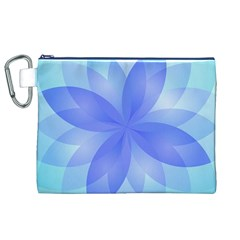 Abstract Lotus Flower 1 Canvas Cosmetic Bag (XL)