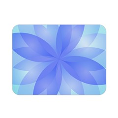 Abstract Lotus Flower 1 Double Sided Flano Blanket (Mini)