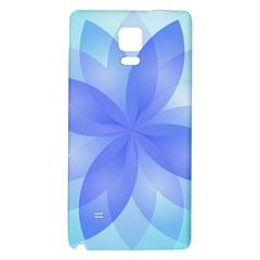 Abstract Lotus Flower 1 Galaxy Note 4 Back Case