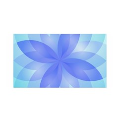 Abstract Lotus Flower 1 Satin Wrap