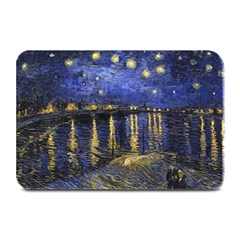 Vincent Van Gogh Starry Night Over The Rhone Plate Mats