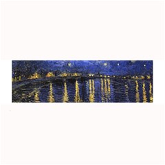 Vincent Van Gogh Starry Night Over The Rhone Large Bar Mats