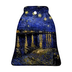 Vincent Van Gogh Starry Night Over The Rhone Bell Ornament (2 Sides)