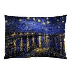 Vincent Van Gogh Starry Night Over The Rhone Pillow Cases (two Sides)