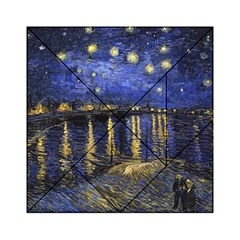 Vincent Van Gogh Starry Night Over The Rhone Acrylic Tangram Puzzle (6  X 6 )