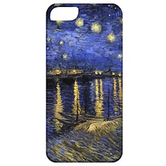 Vincent Van Gogh Starry Night Over The Rhone Apple iPhone 5 Classic Hardshell Case