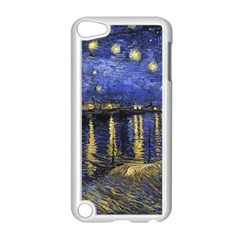 Vincent Van Gogh Starry Night Over The Rhone Apple Ipod Touch 5 Case (white)