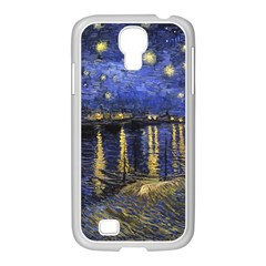 Vincent Van Gogh Starry Night Over The Rhone Samsung Galaxy S4 I9500/ I9505 Case (white)