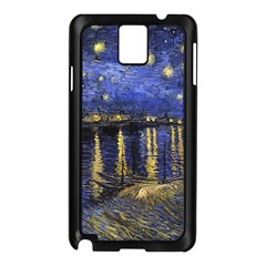 Vincent Van Gogh Starry Night Over The Rhone Samsung Galaxy Note 3 N9005 Case (black)