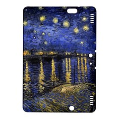 Vincent Van Gogh Starry Night Over The Rhone Kindle Fire Hdx 8 9  Hardshell Case