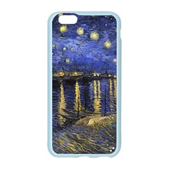 Vincent Van Gogh Starry Night Over The Rhone Apple Seamless iPhone 6/6S Case (Color)