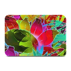 Floral Abstract 1 Plate Mats