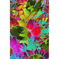 Floral Abstract 1 5 5  X 8 5  Notebooks