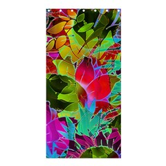 Floral Abstract 1 Shower Curtain 36  X 72  (stall)