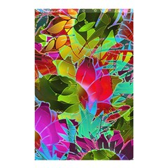 Floral Abstract 1 Shower Curtain 48  X 72  (small)