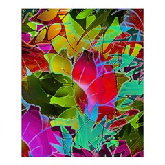 Floral Abstract 1 Shower Curtain 60  x 72  (Medium)