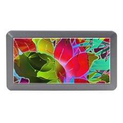Floral Abstract 1 Memory Card Reader (mini)