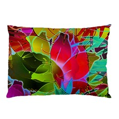 Floral Abstract 1 Pillow Cases (Two Sides)