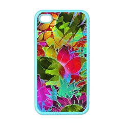 Floral Abstract 1 Apple iPhone 4 Case (Color)