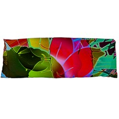 Floral Abstract 1 Body Pillow Cases Dakimakura (Two Sides)