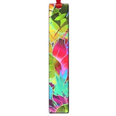 Floral Abstract 1 Large Book Marks