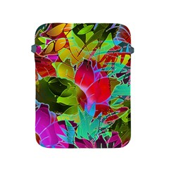 Floral Abstract 1 Apple iPad 2/3/4 Protective Soft Cases