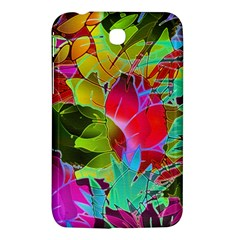 Floral Abstract 1 Samsung Galaxy Tab 3 (7 ) P3200 Hardshell Case
