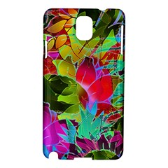 Floral Abstract 1 Samsung Galaxy Note 3 N9005 Hardshell Case