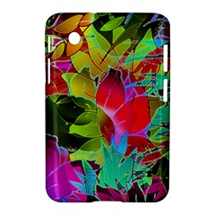 Floral Abstract 1 Samsung Galaxy Tab 2 (7 ) P3100 Hardshell Case
