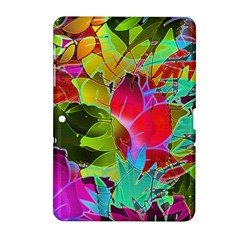 Floral Abstract 1 Samsung Galaxy Tab 2 (10.1 ) P5100 Hardshell Case