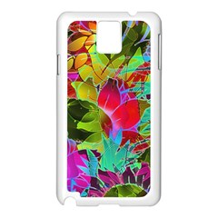 Floral Abstract 1 Samsung Galaxy Note 3 N9005 Case (white)