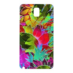 Floral Abstract 1 Samsung Galaxy Note 3 N9005 Hardshell Back Case