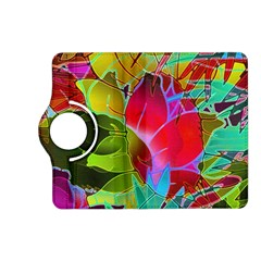 Floral Abstract 1 Kindle Fire Hd (2013) Flip 360 Case