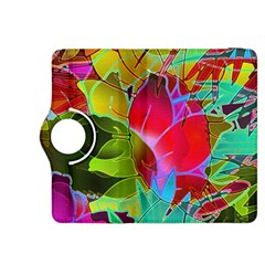 Floral Abstract 1 Kindle Fire Hdx 8 9  Flip 360 Case