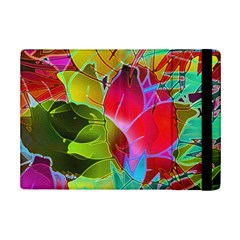 Floral Abstract 1 iPad Mini 2 Flip Cases