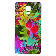Floral Abstract 1 Galaxy Note 4 Back Case