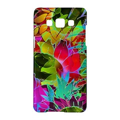 Floral Abstract 1 Samsung Galaxy A5 Hardshell Case
