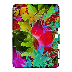Floral Abstract 1 Samsung Galaxy Tab 4 (10.1 ) Hardshell Case