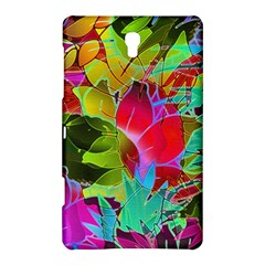 Floral Abstract 1 Samsung Galaxy Tab S (8.4 ) Hardshell Case