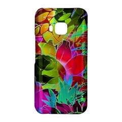 Floral Abstract 1 HTC One M9 Hardshell Case