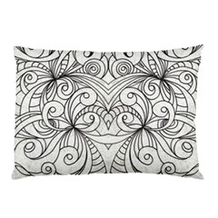 Drawing Floral Doodle 1 Pillow Cases
